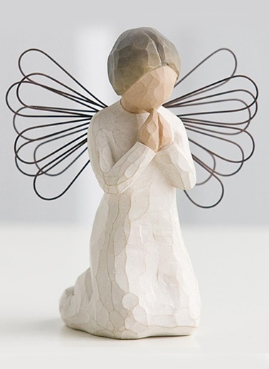Angel of Prayer (Dua eden Melek)-Willow Tree